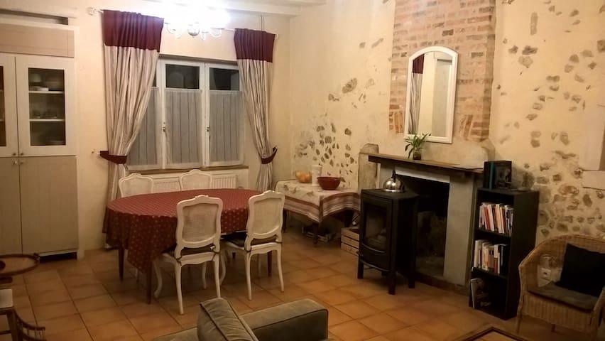 Maison pleine de charme avec jardin - Oizé - Casa