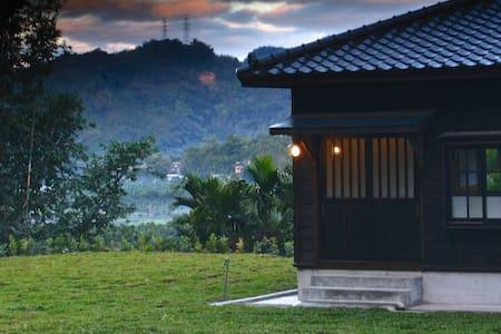 日月潭明宿-田頭社 雙人木屋 - Yuchi Township
