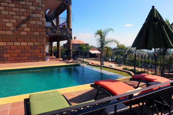 Habitación en Hermosa Casa Rústica en Tepoztlán *