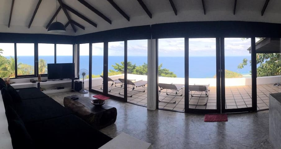 Villa THE LOOKOUT: sea view, 4p, 2 bedr., 2 bathr. - Ko Tao