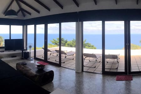 Villa THE LOOKOUT: sea view, 4/5p, 2BR, 2 bathr. - Ko Tao - Villa