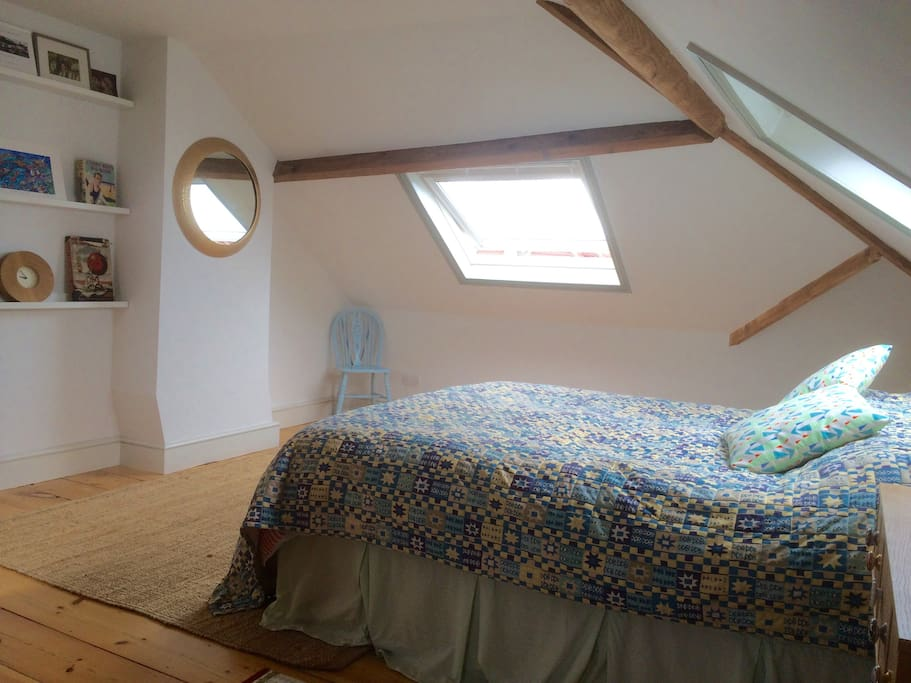 Loft room with ensuite