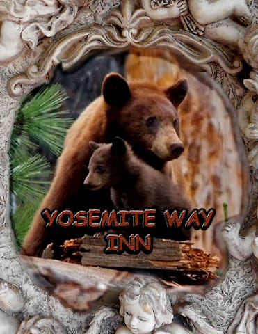 "Yosemite Way Inn, ""bear room"" (parking included)"
