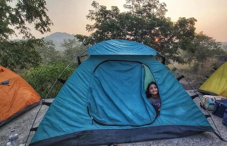 Tent for 2 @ Dahanu