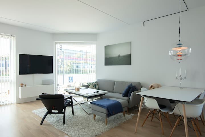 Modern apartment in Copenhagen