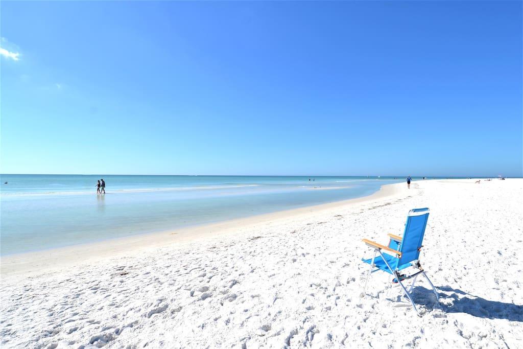 #1 Beach in US - just 1.5 blocks away