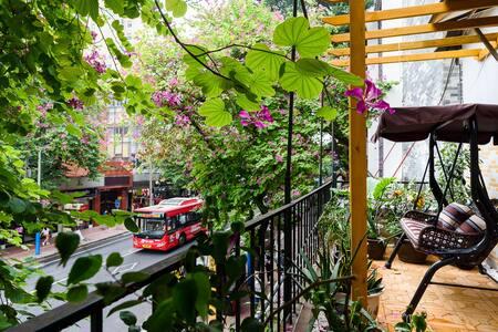 GZ Cosy Loft wz Spacious Balcony @Beijing Road - 广州市 - Квартира