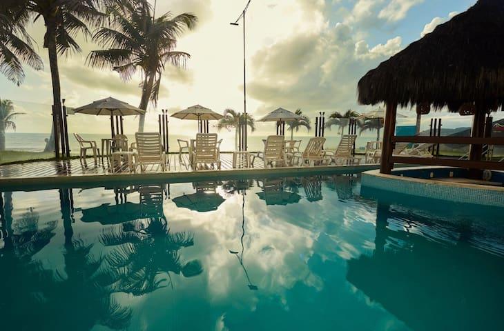 Apartamento Design Beira Mar com Vista