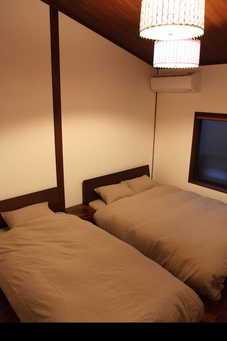 Double Bed and Single Bed