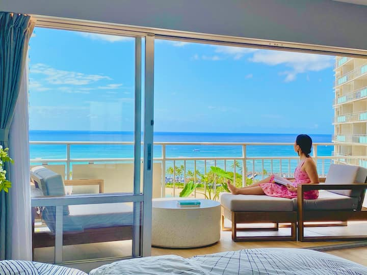 Oceanfront Dream Vacation Getaway on the Beach