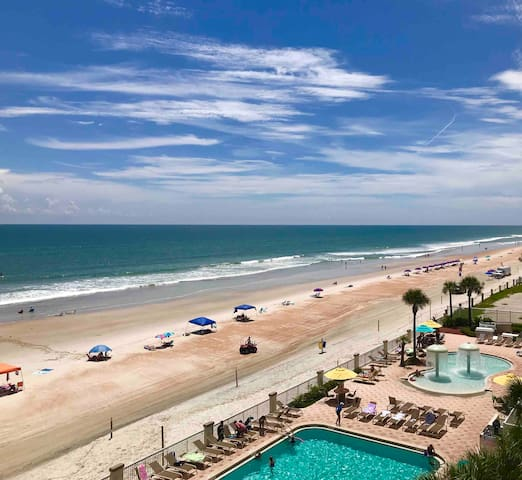 Daytona Beach Resort Oceanfront 4th Fl W/4 Pools