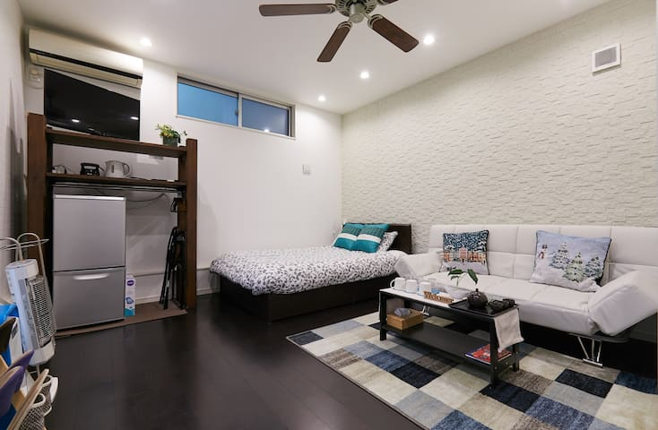 NEW Modern Studio Chinatown 0min/ Nice&Cozy