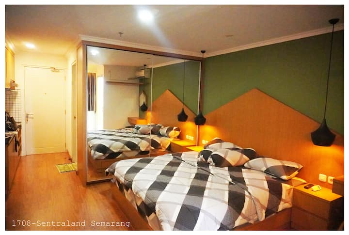 Monthly rent Apartment in center of Semarang!
