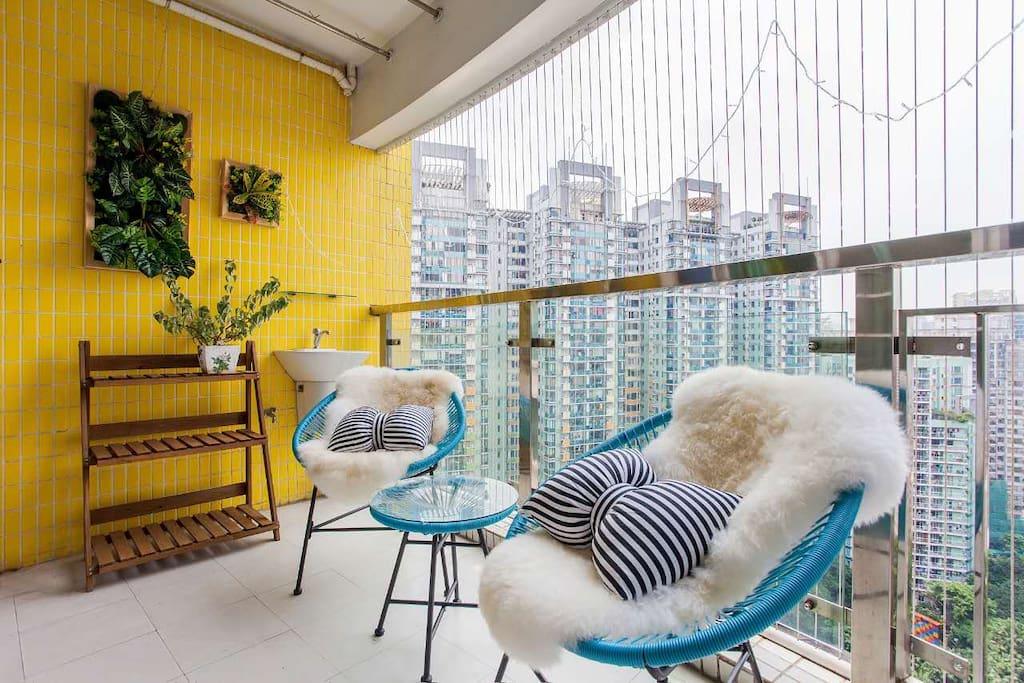 超大阳台满足生活与情调需求