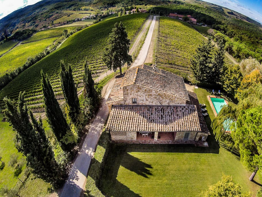 Casa Vecchia di Nozzole - Independent farmhouse of charme amongst vineyards
