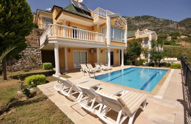 Dream Holiday Villa (5), Alanya, Turkey - alanya - Casa