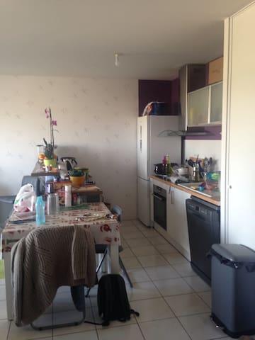 Appartement chaleureux avec balcon (6 pers max) - Bayonne - Appartement
