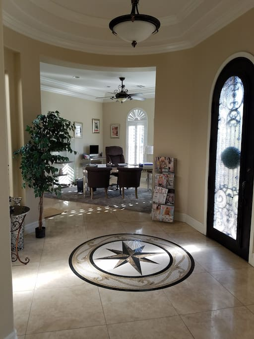 Entry way / Office