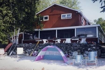 Large Lake House Vacation Rental - Falmouth - Haus