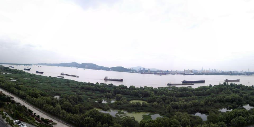 山水有清音——阳光充沛的江景小屋 - Nanjing - Huoneisto