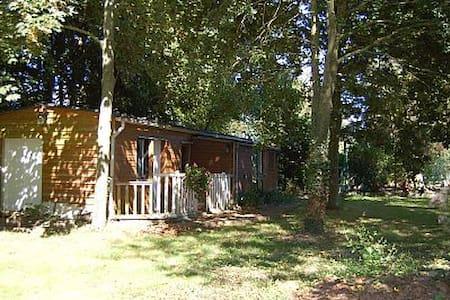 bungalow dans parc boisé