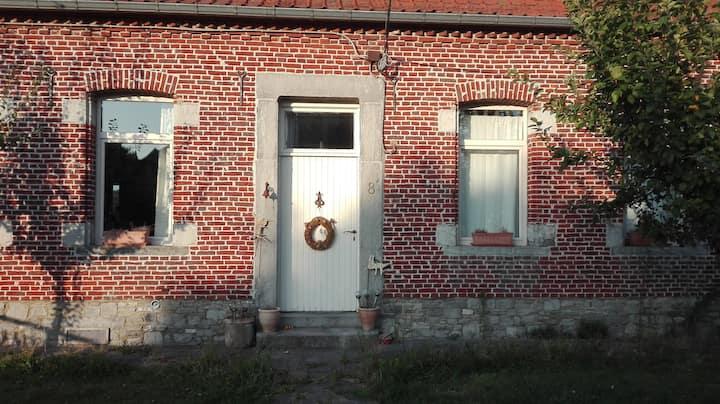 Une chambre privée cosy à la ferme Guillaume