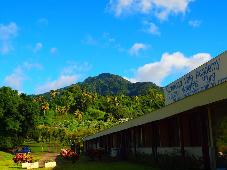 Our hiking center - the starting point if the trail
