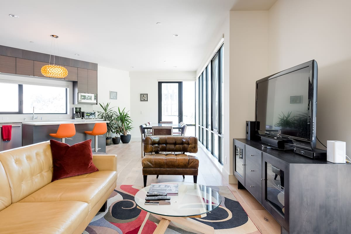 Explore the Castro Area from a Stylish Condo