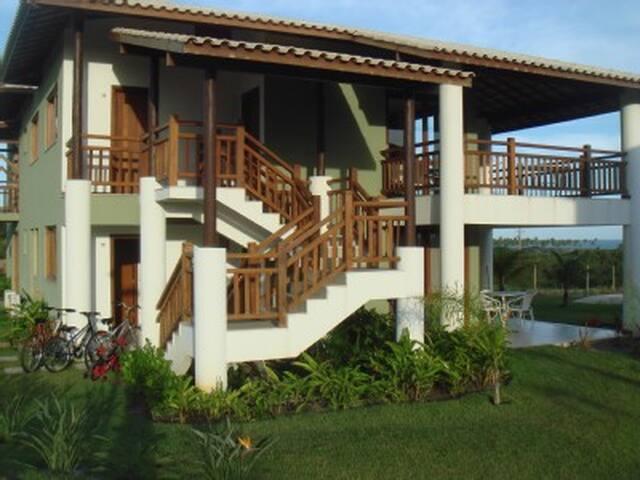 Confortável casa de praia na Reserva Imbassai