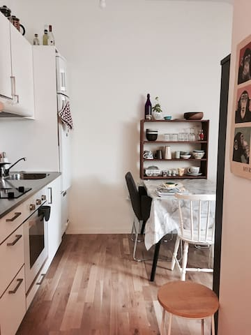 Lovely 1-room studio apartment in downtown