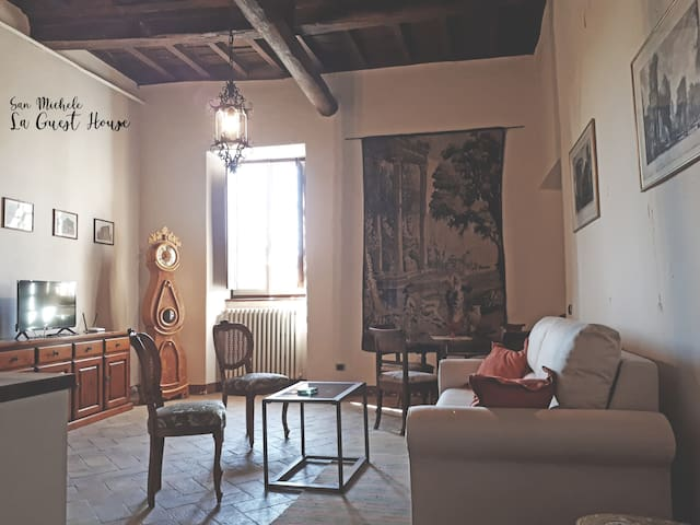 The guest-house of San Michele in Teverina