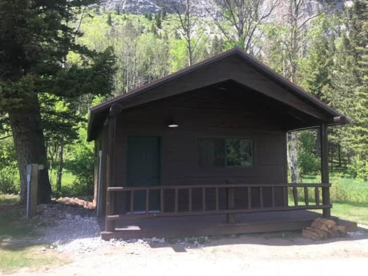 Sun Canyon Winter Cabin