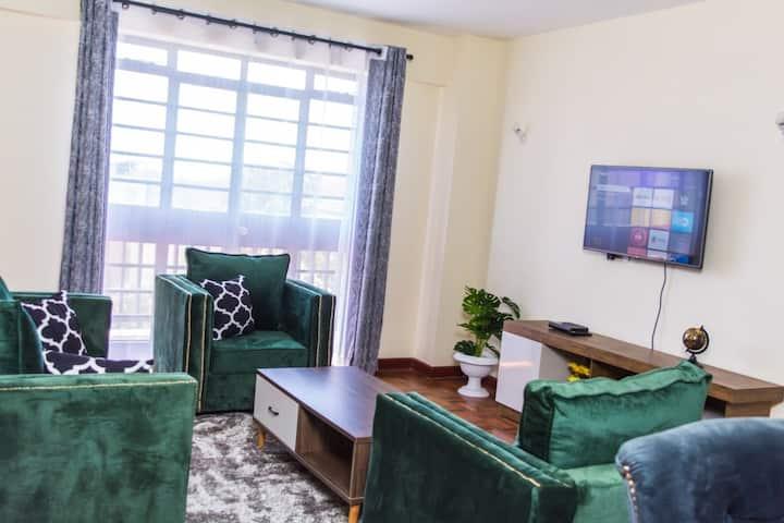 Spacious one bedroom apartment in Westlands
