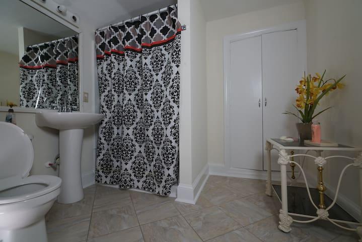 Bathroom next to Rm 7