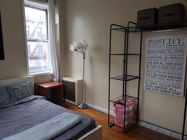 Comfortable bedroom in the heart of Crown Heights