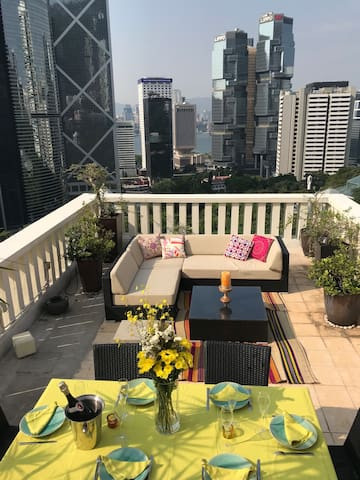 Best Terrace of Hong Kong!