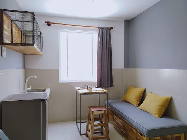 Apartment, toproof garden