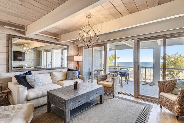 Ocean Front Home on Private Beach