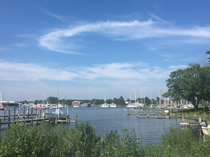 Waterfront Apartment - Solomons, MD
