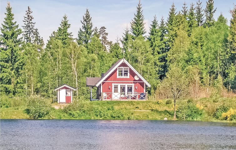 Holiday cottage with 3 bedrooms on 70m² in Långaryd