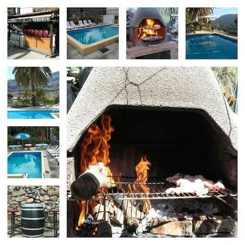 fataga 12 personas albergue/hostel - Las Palmas - Srub
