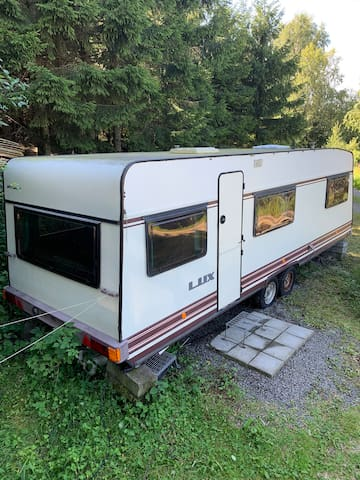 Stor campingvogn i Stavern/ Larvik