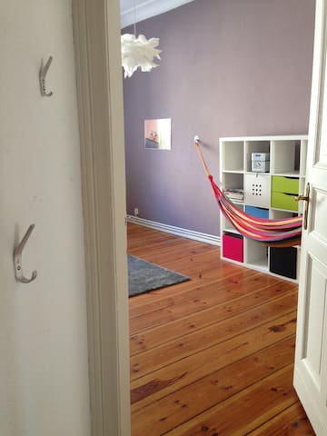Furnished, very large room in old building