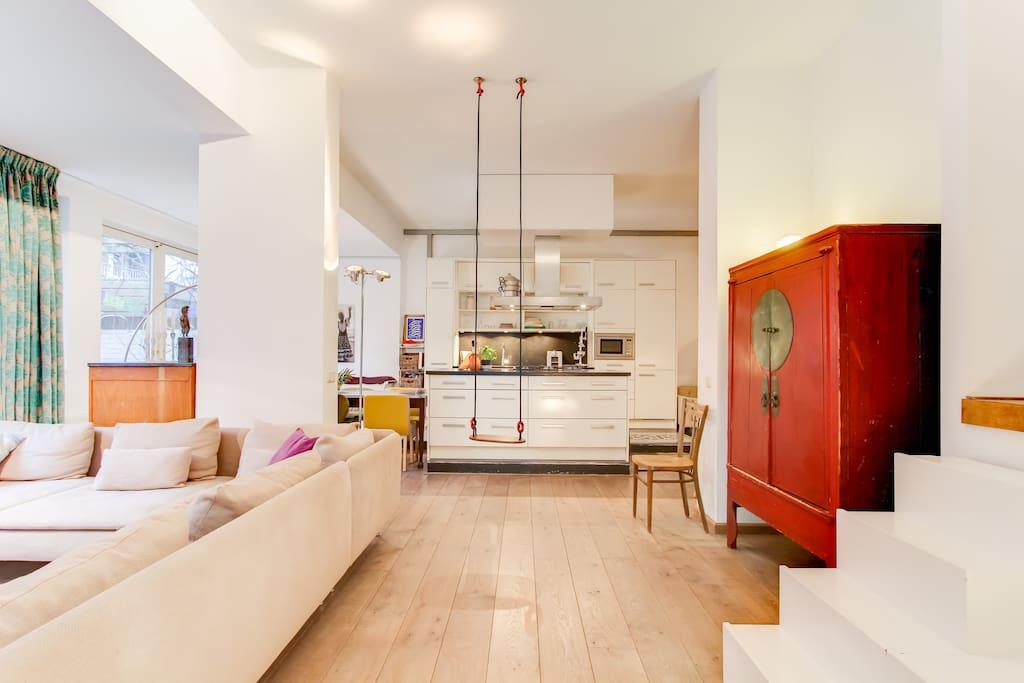 Special cozy furnished 3 brm with garden centre apartamentos en alquiler en msterdam - Apartamentos en amsterdam ...