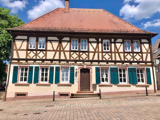 """Das Alte Schulhus""  300 Year Old School House"
