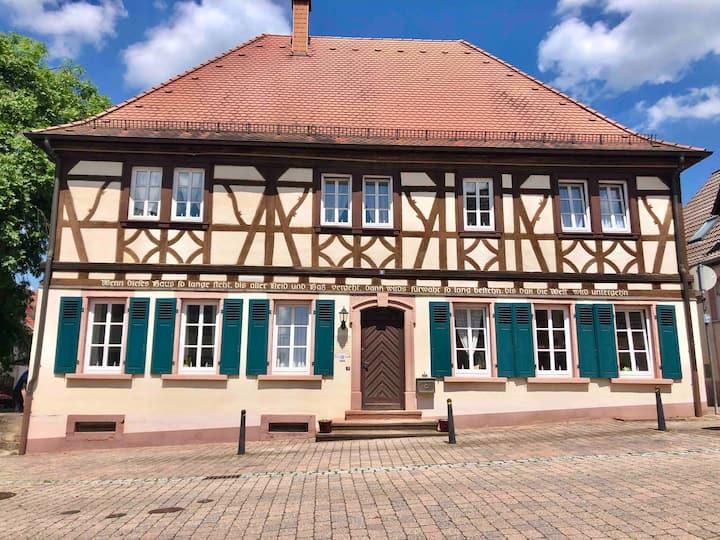 """""""Das Alte Schulhus""""  301 Year Old School House"""