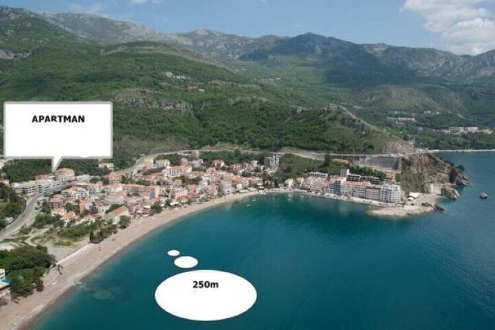 Villa Gaga Rafailovici, Budva, Montenegro