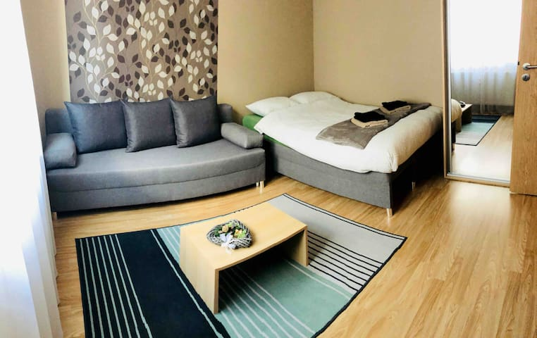 MOSS Apartment🌿 modern & cozy In wider city center