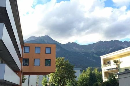 Beautiful Bright Great Location - Innsbruck - Apartamento