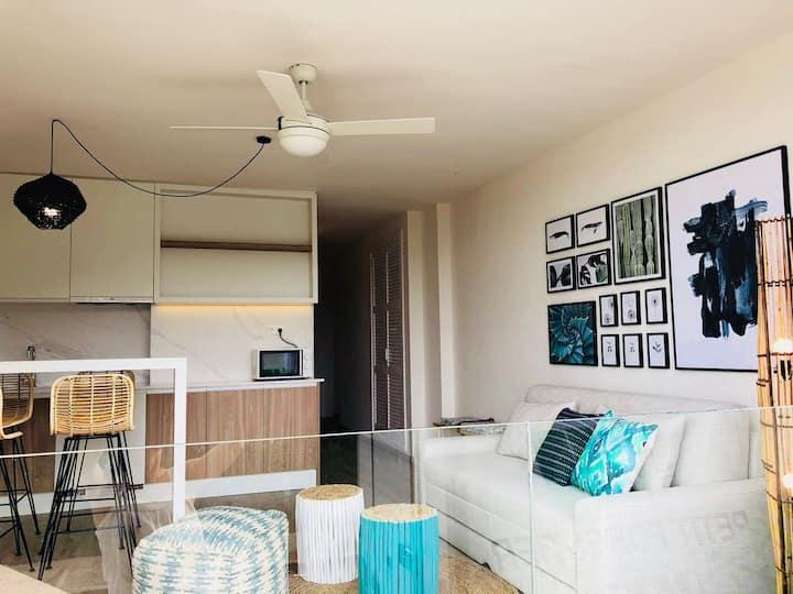 Beautiful brand new apartment in cala san vicente